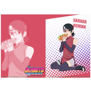 BORUTO【描き下ろし】A4クリアファイル サラダ